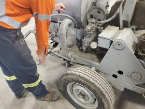 Ball Valve Pump repair